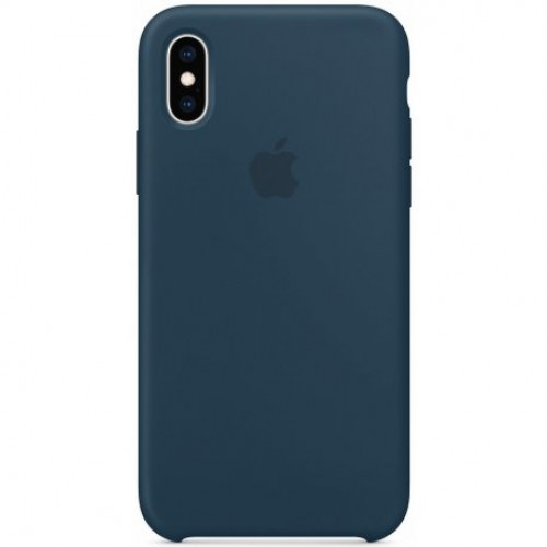 Купить Чехол Apple iPhone XS Silicone Case Pacific Green (MUJU2)