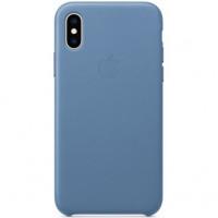 Чехол Apple iPhone XS Max Leather Case Cornflower (MVFX2)