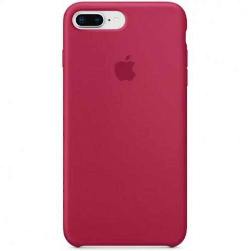 Купить Чехол Apple iPhone 8 Plus/ 7 Plus Silicone Case Rose Red (MQH52)