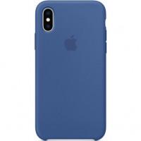 Чехол Apple iPhone XS Silicone Case Delft Blue (MVF12)