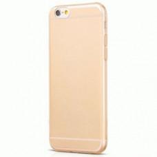 TPU накладка Kuhan для iPhone 6 Plus Gold