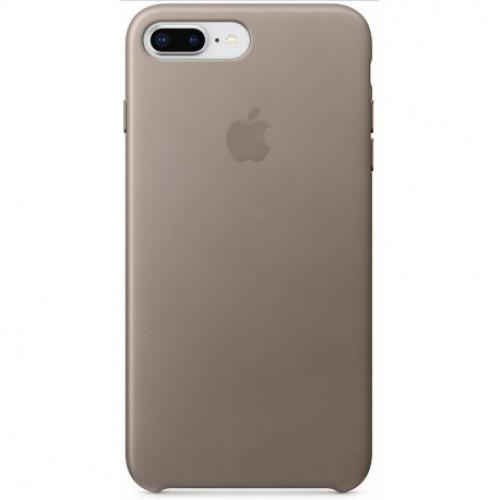 Чехол Apple iPhone 8 Plus/ 7 Plus Leather Case Taupe (MQHJ2)