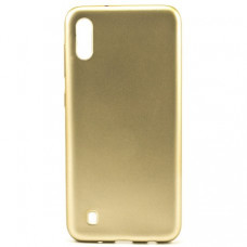 Накладка Silicone Case Rock для Samsung Galaxy M10 Gold