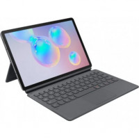 Чехол-клавиатура Samsung Book Cover Keyboard для Galaxy Tab S6 (T860/865) Gray (EF-DT860BJRGRU)
