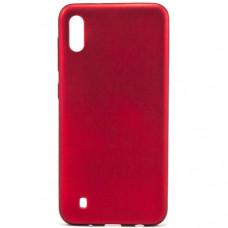 Накладка Silicone Case Rock для Samsung Galaxy M10 Red
