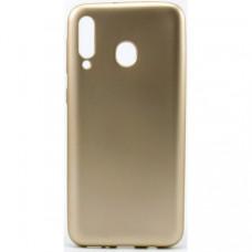 Накладка Silicone Case Rock для Samsung Galaxy M20 Gold