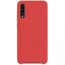 Накладка Silicone Case Rock для Samsung Galaxy A70 (A705) Red
