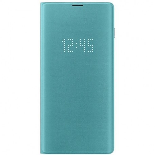Купить Чехол LED View Cover для Samsung Galaxy S10 Plus Green (EF-NG975PGEGRU)