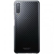 Чехол Gradation Cover для Samsung Galaxy A70 A705F Black (EF-AA705CBEGRU)