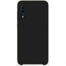 Накладка Silicone Case Rock для Samsung Galaxy A70 (A705) Black