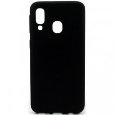 Накладка Silicone Case Rock для Samsung Galaxy M20 Black