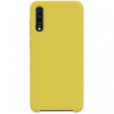 Накладка Silicone Case Rock для Samsung Galaxy A70 (A705) Gold