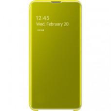 Чехол Clear View Standing Cover для Samsung Galaxy S10e (G970) Yellow (EF-ZG970CYEGRU)