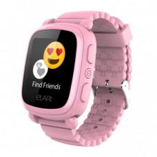 Детские телефон-часы с GPS-трекером Elari KidPhone 2 Pink (KP-2P)