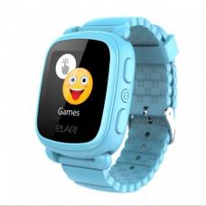 Детские телефон-часы с GPS-трекером Elari KidPhone 2 Blue (KP-2BL)