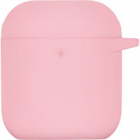 Чехол 2Е для Apple AirPods Pure Color Silicone (3.0mm) Light Pink