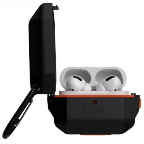 Купить Чехол Urban Armor Gear (UAG) для AirPods Pro Hardcase Black/Orange