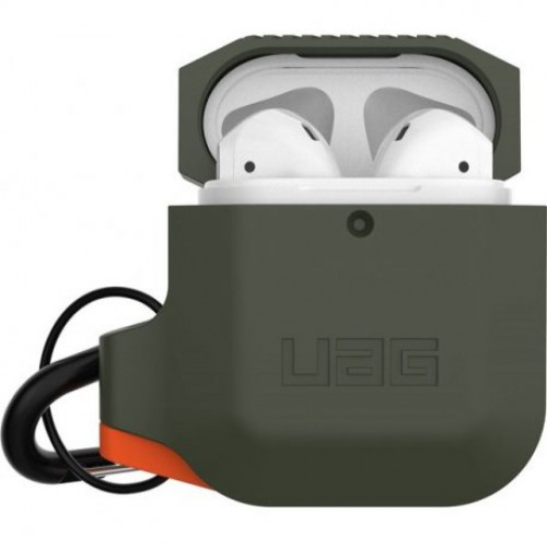 Чехол Urban Armor Gear (UAG) для AirPods Olive Drab/Orange