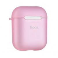 Чехол Hoco TPU Case для Apple AirPods Pink