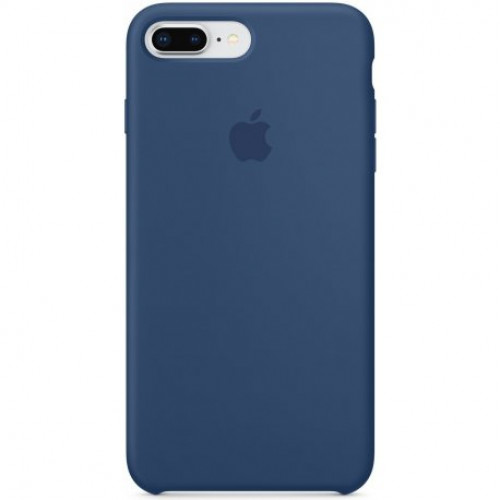 Купить Чехол Apple iPhone 8 Plus/ 7 Plus Silicone Case Blue Cobalt (MQH02)
