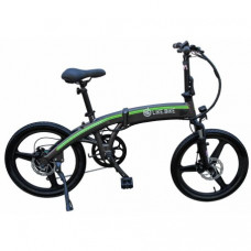 Электровелосипед Like.Bike Flash Gray-Green