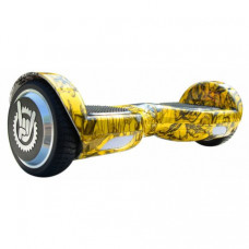 Гироборд Like.Bike X6i Yellow Skull