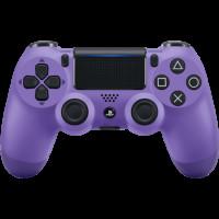Беспроводной джойстик Dualshock 4 V2 Electric Purple (PS4)