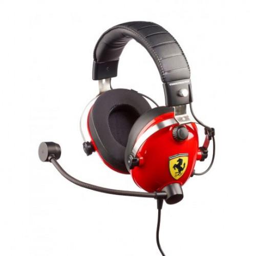 Купить Игровая гарнитура Thrustmaster T.Racing Scuderia Ferrari Edition Gaming (4060105)