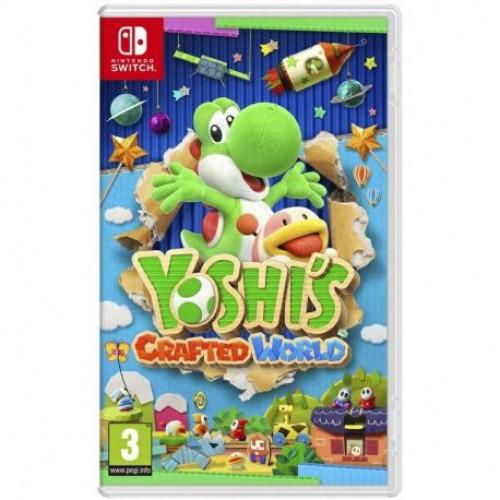 Купить Игра Yoshi's Crafted World для Nintendo Switch (русские субтитры)