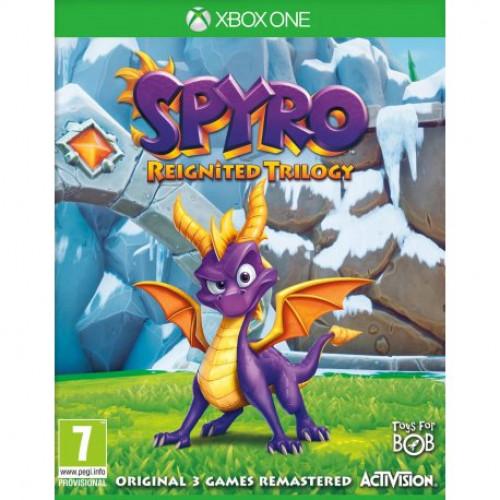 Купить Игра Spyro Reignited Trilogy для Microsoft Xbox One (английская версия)