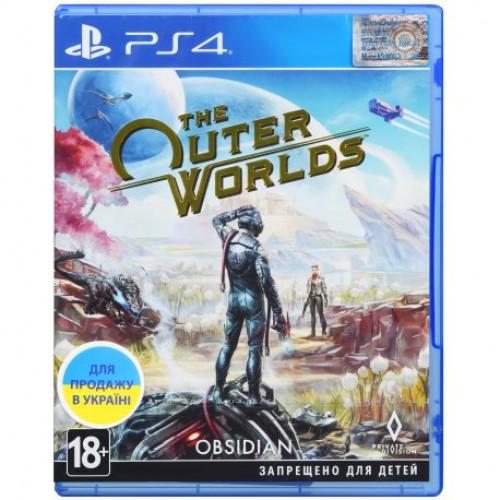 Купить Игра The Outer Worlds (PS4, Русские субтитры)