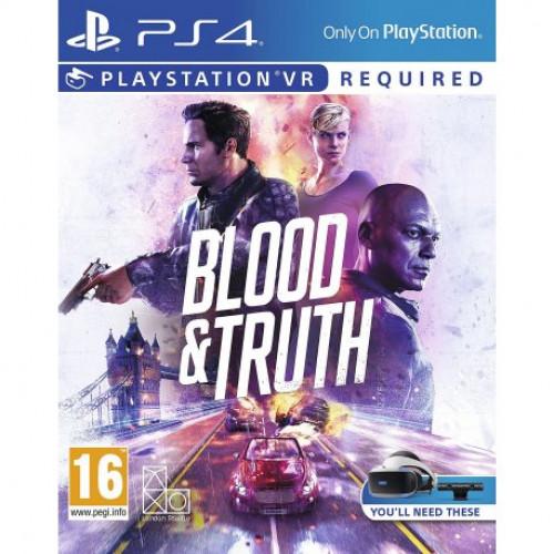 Купить Игра Кровь и Истина (Blood & Truth) (PlayStation VR) для Sony PS 4 (русская версия)