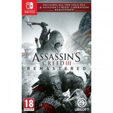 Игра Assassin's Creed III: Remastered  (Nintendo Switch, Русская версия)