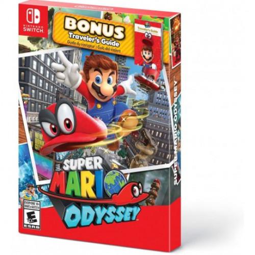 Купить Игра Super Mario Odyssey with Bonus Traveler's Guide для Nintendo Switch (русская версия)