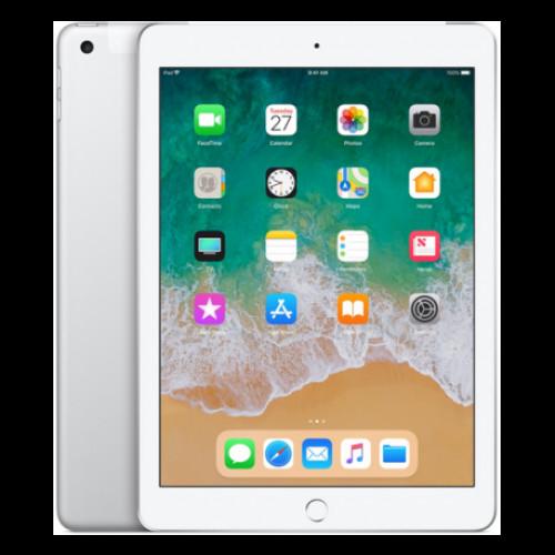 Купить Apple iPad 2018 9.7 128GB Wi-Fi + 4G Silver (MR7D2)
