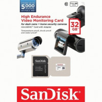 Карта памяти SanDisk microSDHC High Endurance 32GB Class10 + SD-adapter (SDSDQQ-032G-G46A)