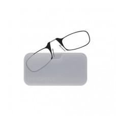 Очки Thinoptics +1.00 Черные + Чехол универсальный прозрачный (1.0BWUP)