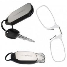 Очки для чтения Thinoptics +2.00 Прозрачные + Брелок для ключей (2.0CBKH)