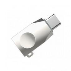 Адаптер Hoco OTG UA9 USB-Type-C Silver