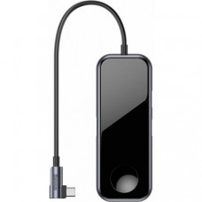 Адаптер Baseus Multi-functional Hub Type-C to 2 x USB3 + HDMI + Audio + PD + Apple Watch (CAHUB-AZ0G)