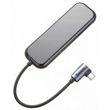 Адаптер Baseus Multi-functional Hub USB-C to 4xUSB 3.0/PD (CAHUB-EZ0G)