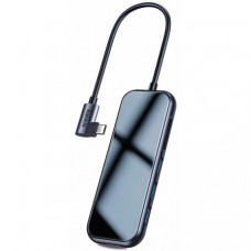 Адаптер Baseus Multi-functional Hub USB-C to HDMI/3xUSB 3.0/SD/MicroSD/PD (CAHUB-CZ0G)