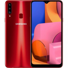Samsung Galaxy A20s 3/32GB Red (SM-A207FZRDSEK) + 365 грн на пополнение счета в подарок!