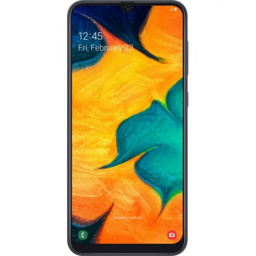 Купить Samsung Galaxy A30 Duos 4/64GB Black (SM-A305FZKOSEK)
