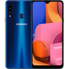 Samsung Galaxy A20s 3/32GB Blue (SM-A207FZBDSEK) + 365 грн на пополнение счета в подарок!