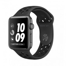 Apple Watch Series 2 38mm Space Gray Aluminum Case with Anthracite/Black Nike Sport Band (MQ162)