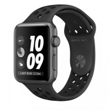 Apple Watch Series 2 42mm Space Gray Aluminum Case with Anthracite/Black Nike Sport Band (MQ182)