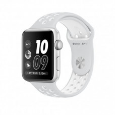 Apple Watch Series 2 38mm Silver Aluminum Casewith Pure Platinum/White Nike Sport Band (MQ172)