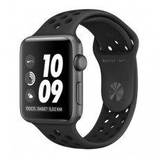 Apple Watch Series 3 38mm (GPS) Space Gray Case with Anthracite/Black Nike Sport Band (MQKY2)