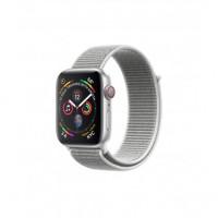 Apple Watch Series 4 Nike+ 40mm (GPS+LTE) Silver Aluminum Case with Seashell Sport Loop (MTVC2)